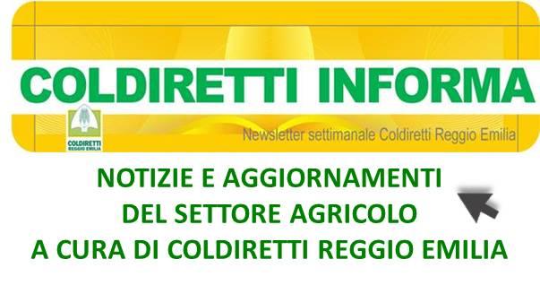 Coldiretti Informa – Reggio Emilia