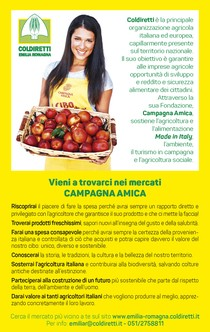 Mercati di CA – Emilia Romagna