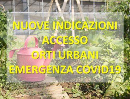 Accesso Orti Urbani – Reggio Emilia