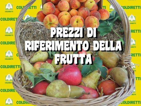 Banner prezzi frutta